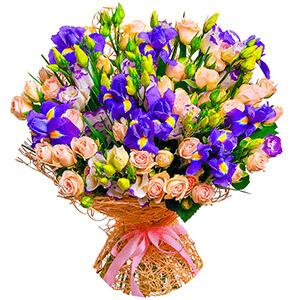 Дизайнерский букет +30% цветов с доставкой в Находке
