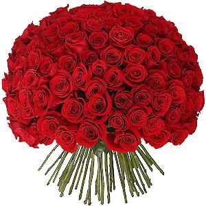 Букет из 101 красной розы с доставкой в Находке